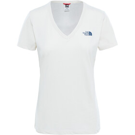 The North Face Simple Dom S/S Tee Dame vintage white/blue wing teal/blue wing teal